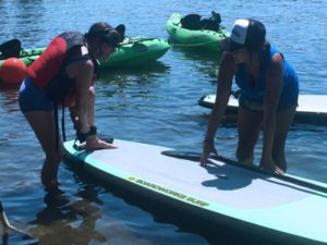 SUP and Kayak lessons in Bothell Washington