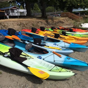 Bothell Kayak at the Lake Forest Civic Club